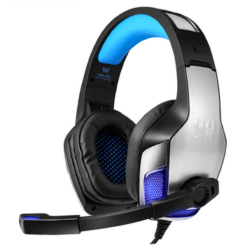 KOTION EACH G5300 Gaming Headset Headphone with Led Microphone Bass Headphones for New Xbox One PS4 Laptop Phone PC Gamer Casque