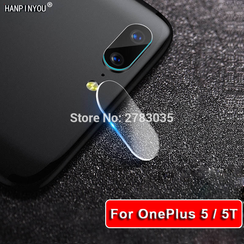 For OnePlus 5 1+ 5 5T 5.5 Clear Ultra Slim Back Camera Lens Protector Transparent Rear Camera Lens Cover Tempered Glass Film