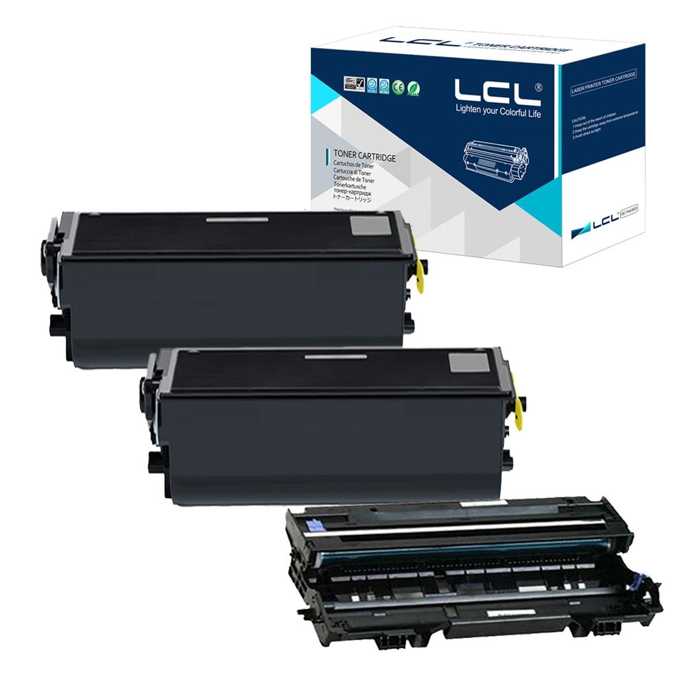 LCL TN570 TN540 TN3060 TN3030 DR510 (3-pack) Black Toner Cartridge Compatible for Brother HL-5140/5150D/5170DN/4750e/5750e