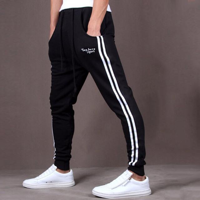 Pantalones Capri Hombres Ropa Impresa Letra Hip Hop Pantalones Harén Hombres Pantalones Pantalones Deportivos X110