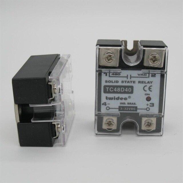 Industrial Solid State Relay SSR40DA SSR 40DA Manufacturer 40A ssr