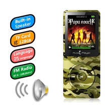 лучшая цена IQQ new version X02 MP3 Player Built-in Speaker and 8G memory with 1.8 Inch Screen can play 100h Portable Lossless sound Walkman