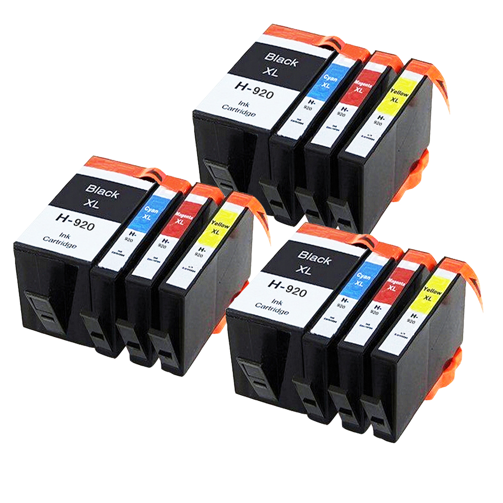 ФОТО 12 Compatible Ink cartridge for HP920 XL Officejet 6000 6500 6500A 7000 7500A Printer (WITH CHIP)