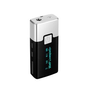 Image 2 - Mini Radio Digital portátil DAB + receptor de bolsillo, con auriculares, pantalla LCD, batería recargable, P10