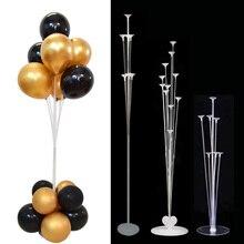 7/11 Tubes Balloons Stick Ballon Holder Column Balloon Stand Baby Shower Kids Birthday Party Wedding Decoration Baloon Supplies