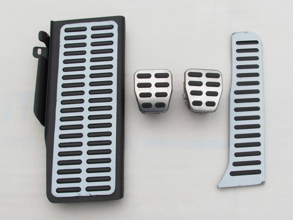 Stainless Steel car pedal Car Accessories for Volkswagen vw Passat B6 B7 cc For Skoda superb AT / MT