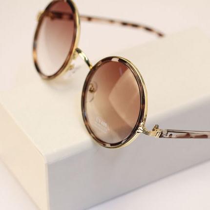 Fashion Round Sunglasses