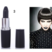Best Deal NEW Fashion Waterproof Lipstick Vampire Gothic Style Black Color Lip Stick Long Lasting lipstick 1pc