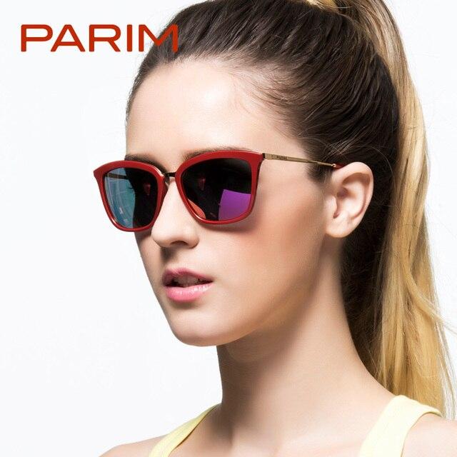 f7469970b7 Parim sunglasses women brand designer polarized sunglasses oculos de sol  feminino cat eye glasses women