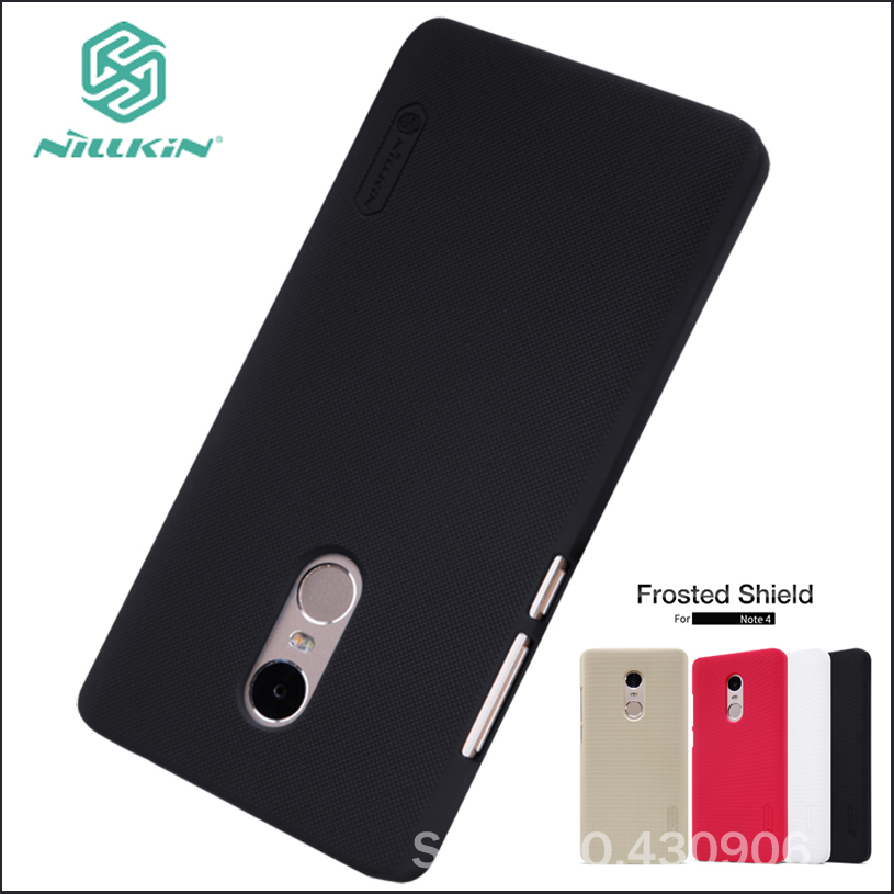 Nillkin For Xiaomi Redmi Note 4 Cover Hard Case Phone Shell High Quality Super Frosted Shield For Redmi Note4 Nillkin For Xiaomi Redmi Note 4 Cover Hard Case Phone Shell High Quality Super Frosted Shield For Redmi Note4