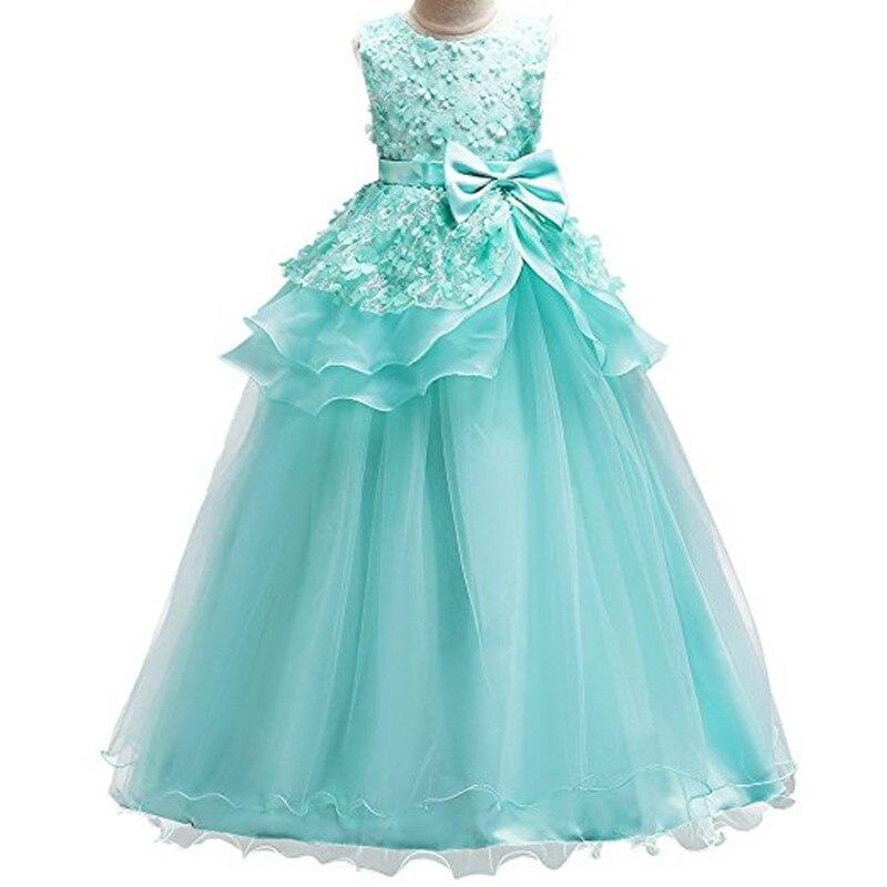 Gardlilac Lace   Flower     Girl     Dress   with Applique Beading Sleeveless   Flower     Girl     Dress   Knee-Length first communion   girls     dress