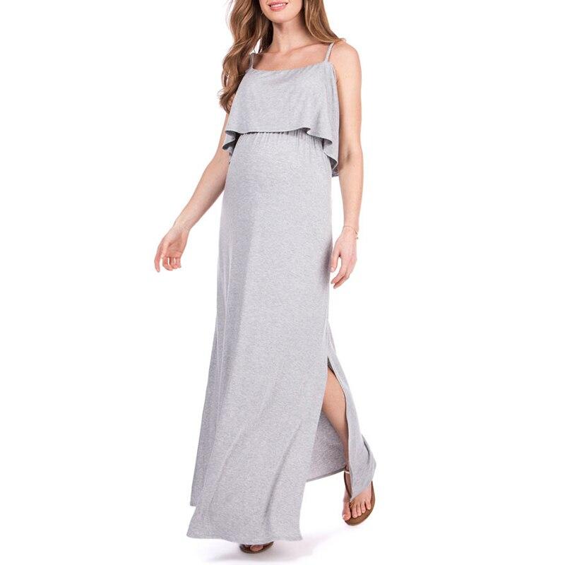 Europe and the United States big modal word collar breastfeeding skirt bohemian pregnant women dress pregnant women summer cloth цена