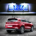 2x LED Number License Plate Light Lamp For kia sportage 2016 2017 KX5 Auto Accessories