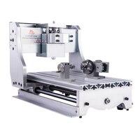 Quadro da máquina de trituração do cnc 3020 quadro do gravador de madeira do cnc 3040 para a perfuração de corte que grava a máquina do cnc