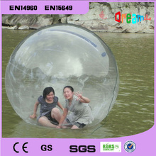 Free shipping!Water walking ball 2M diameter 0.8mm PVC inflatable ball/water ball walk/zorb ball/inflatable human hamster