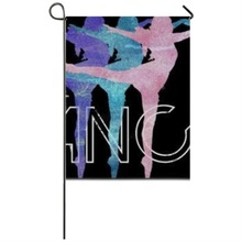 Just Dance Beautiful Girls Garden flag Seasonal Flags Weatherproof Decoration garden flags party home house decorations