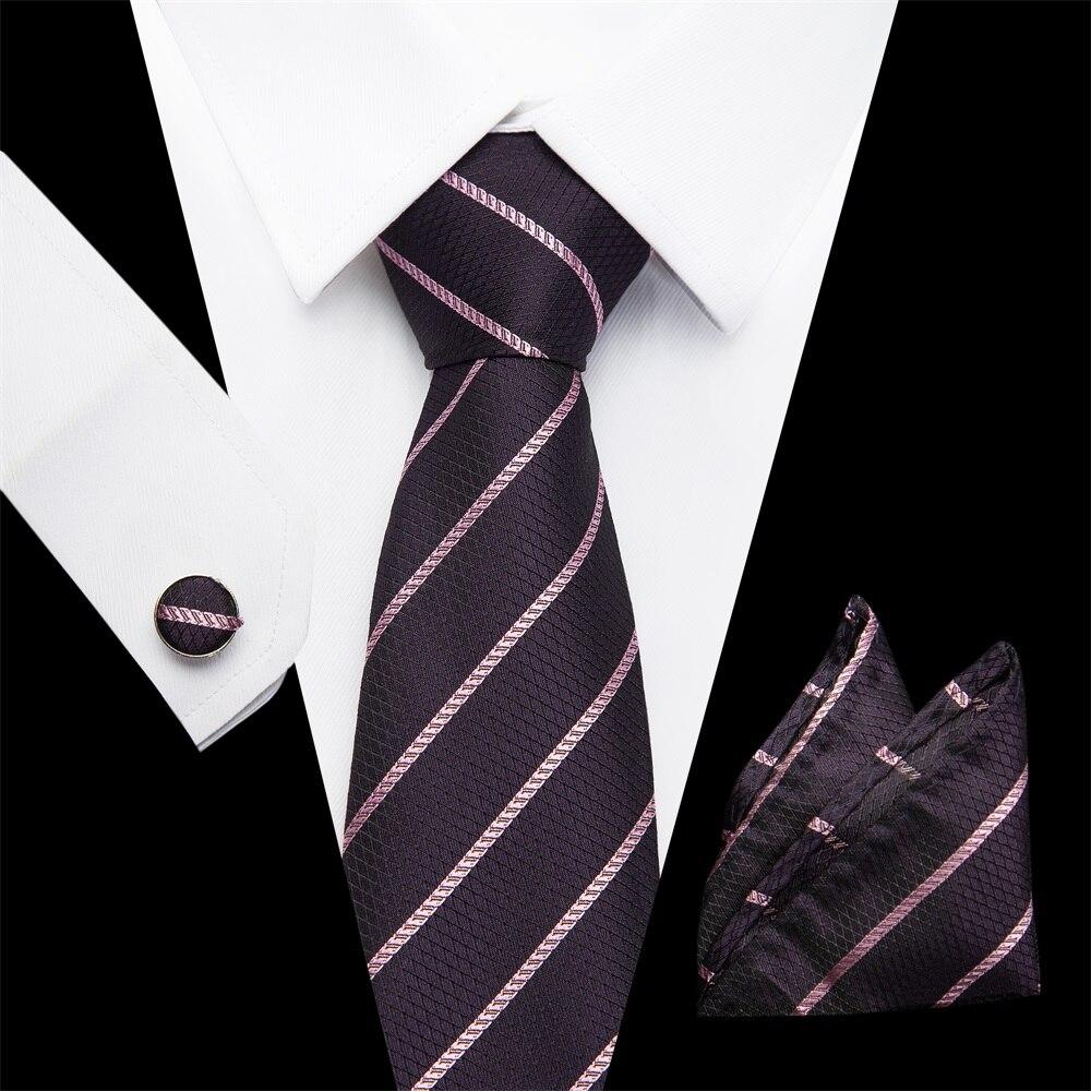 Men Necktie Novelty Tie Hanky Cufflinks Sets Men 39 s 100 Silk Ties for men Formal Formal Wedding Ties Party Groom extra in Men 39 s Ties amp Handkerchiefs from Apparel Accessories