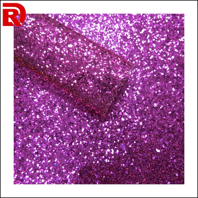 Fashion Glitter Fabric Household Leather Purple Windows Background