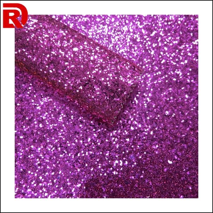 Fashion Glitter Fabric Household Leather Purple Windows Background