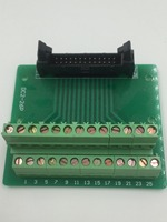 Hot Factory Direct Wholesale IDC26 Male Plug 26pin Port Header Terminal Breakout PCB Board Block 2