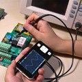 Nova Versão Mini BRAÇO DSO211 Pocket-sized Osciloscópio Digital Portátil Nano Handheld Digital Storage Oscilloscope