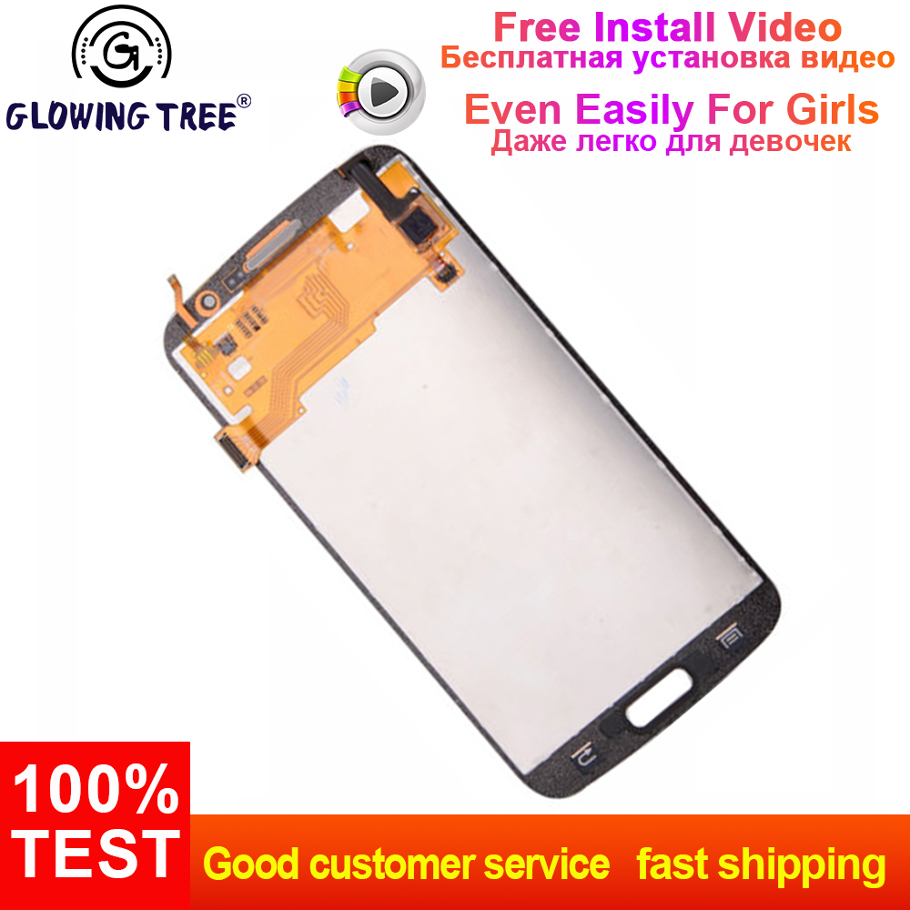 Mobile Phone Parts Lcd Display Panel Monitor Assembly For Samsung Galaxy Grand 2 Duos G7105 G7106 G7108 G7102 Touch Screen Digitizer Sensor