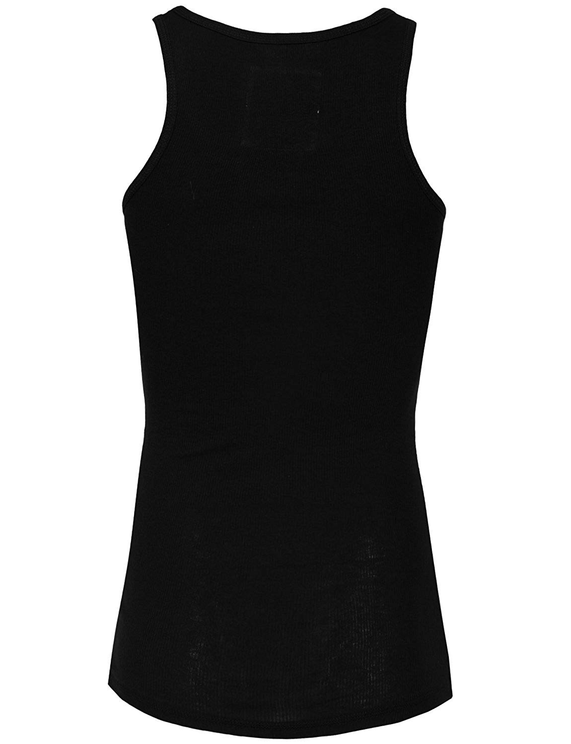 NE PEOPLE Womens Basic Stretch Comfy Fitted Ribbed Tank Top S 3XL