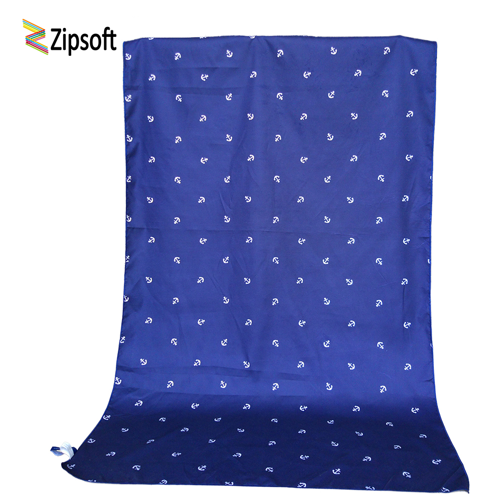Zipsoft Beach towel Adult Christmas gift 90*170cm Swimming travel Bath compact antibacterial quick dry water absorbent washrag
