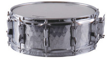 14″*5.5″ Hammered Stainless Steel Snare Drum Shipping time 8-13 days Percussion musical instruments