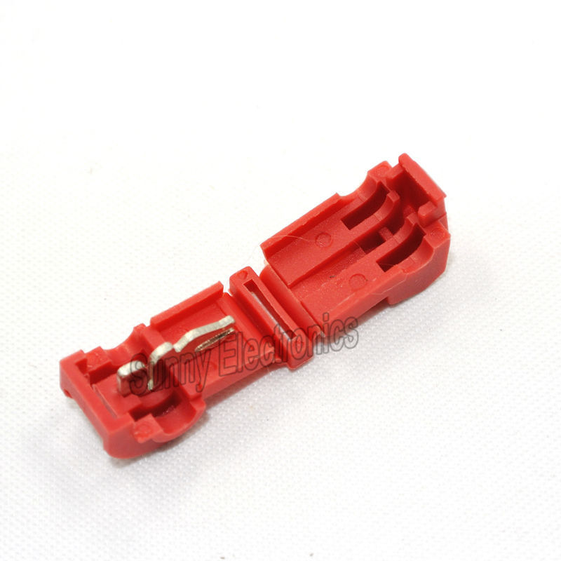 wholesale 500 QUICK 22 18 AWG SPLICE CONNECTORS RED SCOTCH LOCK WIRE TERMINAL CRIMPS