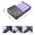 LI-ion De Lítio Recarregável Carregador de Bateria de Carregamento USB Plug Universal Ajustável Para 18650 18350 16340 15000 14500