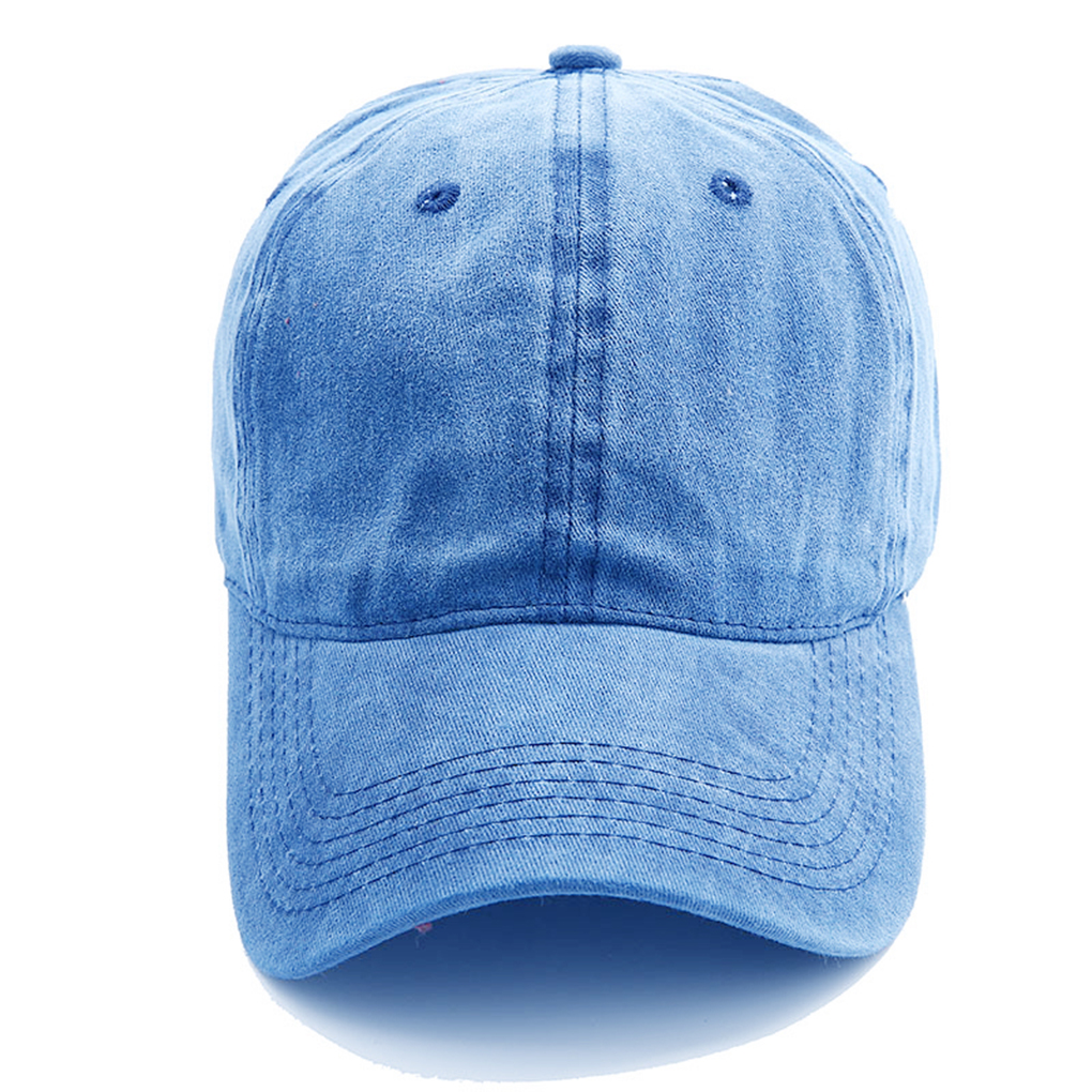 2019 Spring Washed Cotton Lovers   Baseball     Cap   Women Casual   Cap   Men Snapback Adjustable Breathable Solid Hats