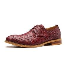 2016 New Business Men's Basic Flat Super Genuine Leather Gentle Wedding Dress Shoes Luxury Brand Formal Wearing British Fashion
