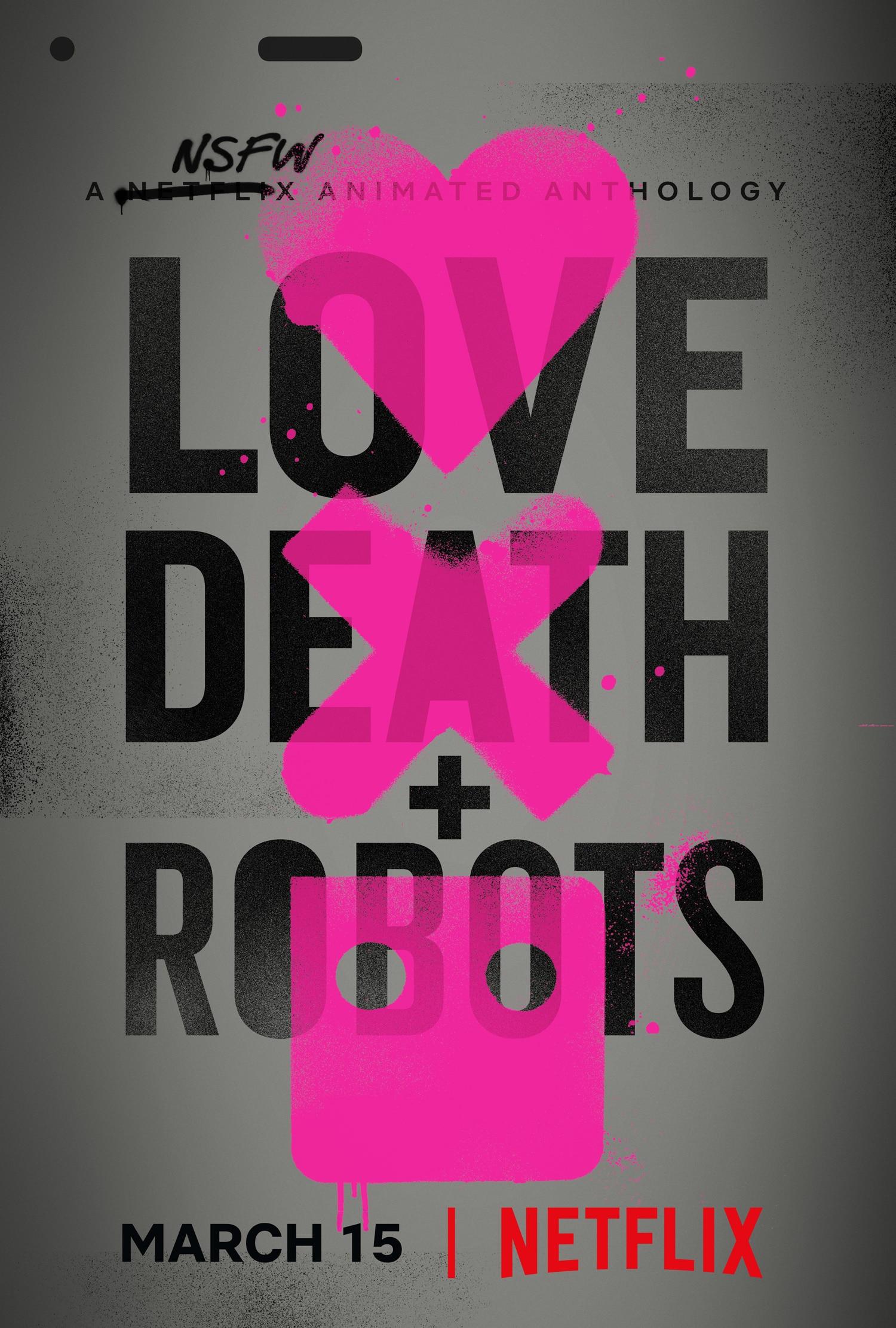 爱,死亡和机器人封面