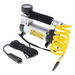 Inflador de neumáticos de coche de 12V CC 100PSI bomba de aire de coche 35 L/MIN bombas de coche 100W compresor de aire para bicicletas de coche motocicletas