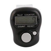Строк цифр tally электронной finger счетчик жк гольф ручной цифровой мини