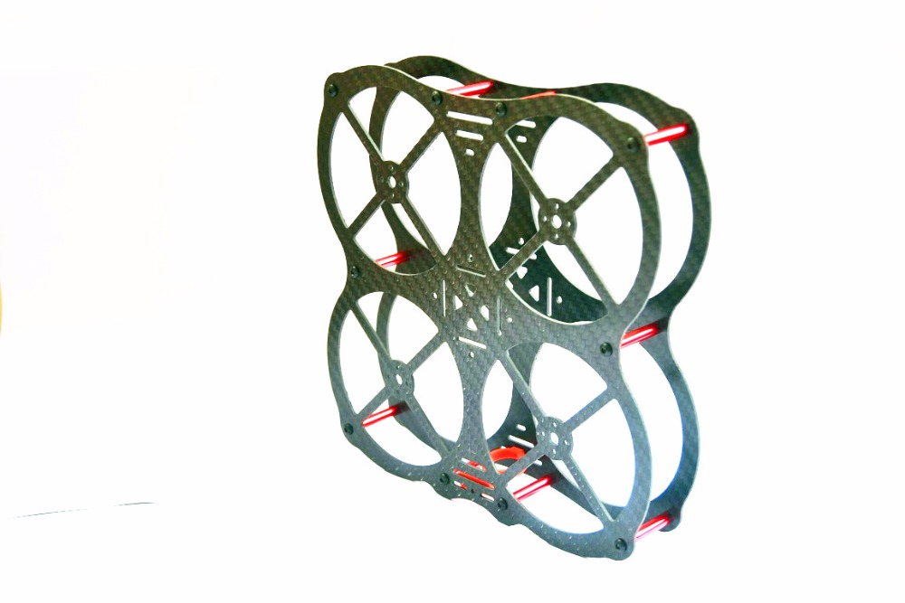 High Quality Carbon/ Glass Fiber Mini 130mm 130 Frame DIY FPV Racing Quadcopter MM130 For <font><b>3045</b></font> 3030 3 / 4 blade <font><b>propeller</b></font> image