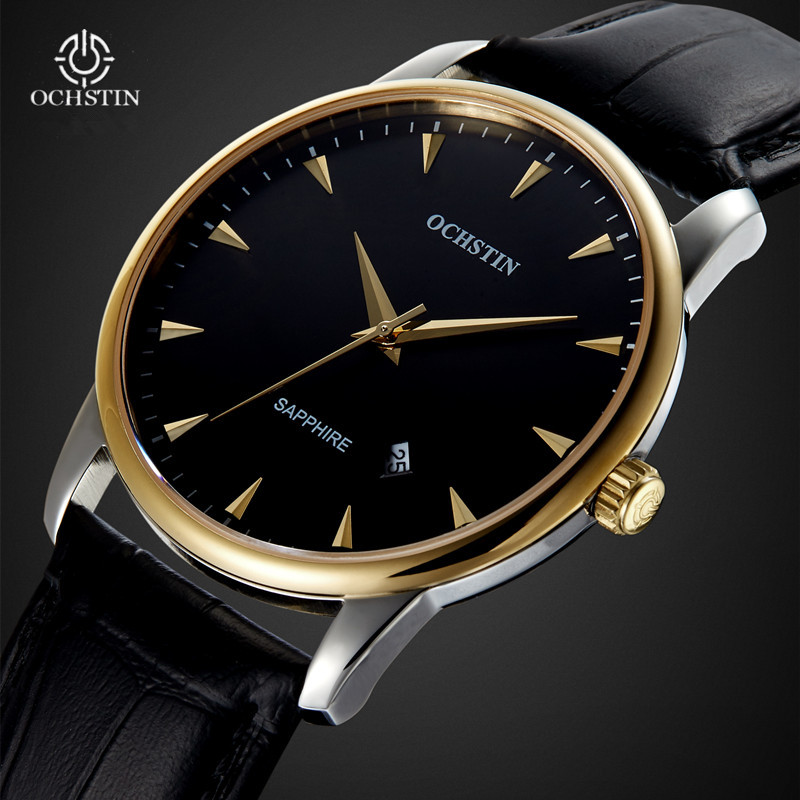 Fashion Casual Mens Watches Luxury Brand OCHSTIN Leather Business Quartz Watch Men Wristwatch Male Gift Clock Relogios Masculino new listing men watch luxury brand watches quartz clock fashion leather belts watch cheap sports wristwatch relogio male gift