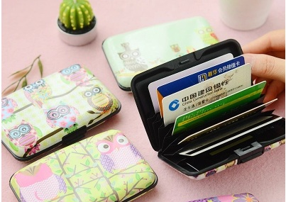 1 Pcs Cute Card Holder Expanding Cards Wallet Crazy Price