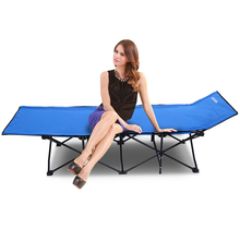 Portable Folding Chair Camping Seat Sun Loungers for home, office Break time Folding Bed Easy Storage Furniture N40*