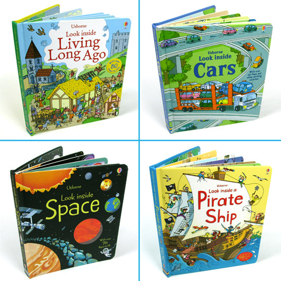 English original children's books series organs looking through the book Look inside kid Original  baby educational Picture book lift the flap word book baby board books learning and educational picture story books stereo book learning word wholesale