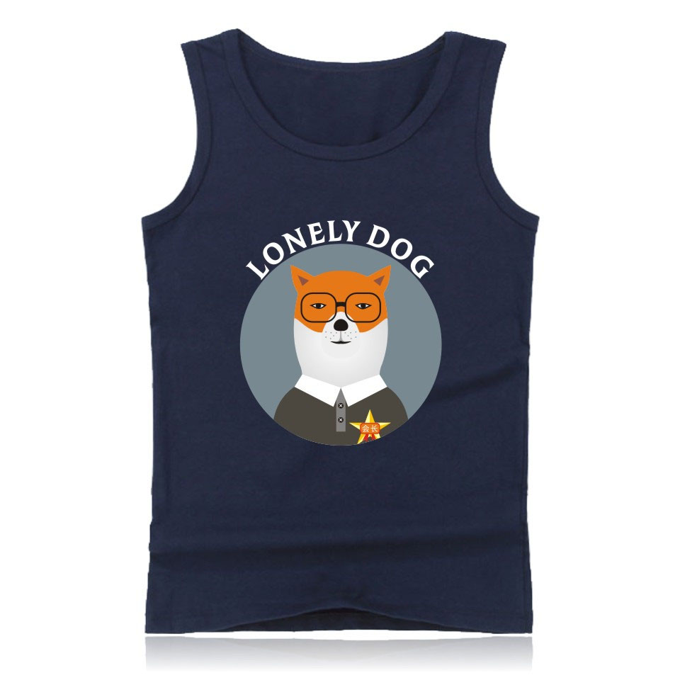 Tank     Tops   Men's 2018 Funny Dog Vest Men Women Casual Breathable   Tank     Tops   Hip Hop Summer   Tank     Tops   Man Fashion Vest XXS-4XL   Tops