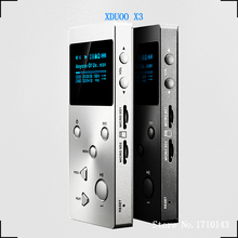 NEW XDUOO X3 Professional Lossless music MP3 HIFI Music Player with HD OLED Screen Support APE/FLAC/ALAC/WAV/WMA/OGG/MP3
