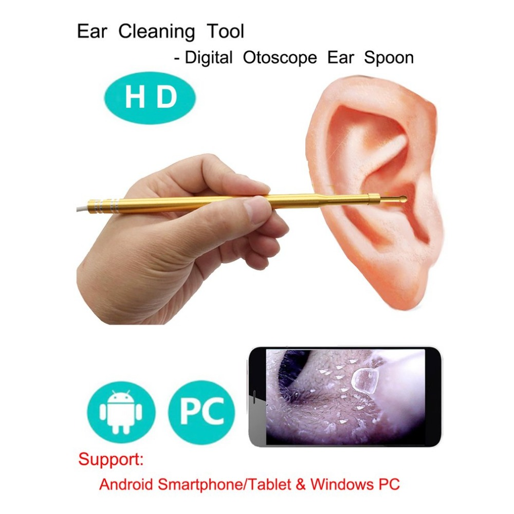 Full HD 0.3MP 1MP WIFI Snake USB Endoscope Camera 6 LEDs Rigid Cable Android iPhone IOS WIFI Ear Care In-ear Cleaning Endoscope full hd 1080p optical zoom couplers endoscope coupler adapter medical endoscope camera adapter for rigid endoscope