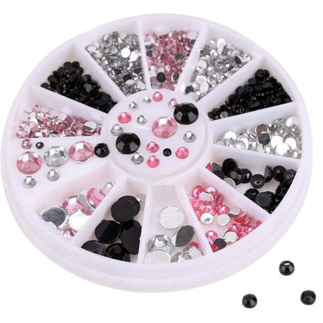 Hot Sale Nail Art Tips Gems Crystal Glitter Rhinestone DIY ...