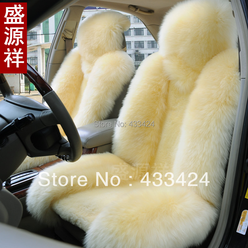 Cushion Wool Interior Accessories Safety One Front Seat Cover For