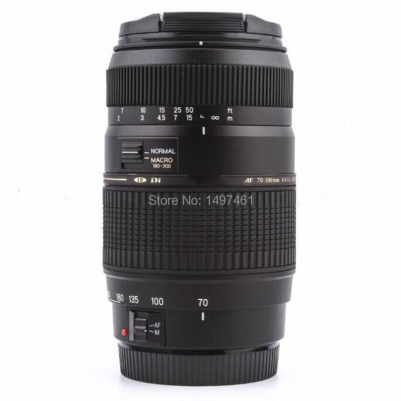 AF 70-300mm F4-5.6 Di LD Macro téléobjectif pour Nikon D3300 D5200 D5300 D5500 D90 D60 D40X D3200 D3400 SLR (pour Tamron A17)