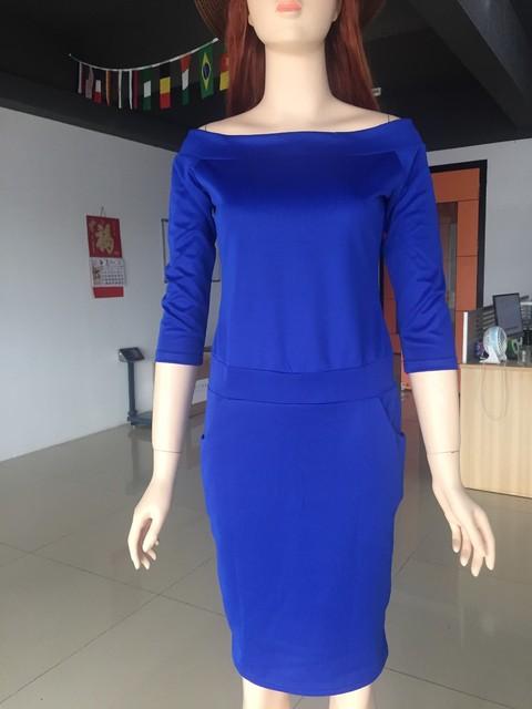 Bandeau Off Shoulder Pencil Dress