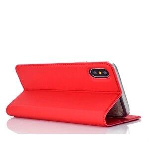 Image 5 - 가죽 커버 아이폰 xr 케이스 coque 고급 자기 전화 케이스에 대한 funda 아이폰 x xs 최대 아이폰 6 6 s 7 8 플러스 케이스 capinha