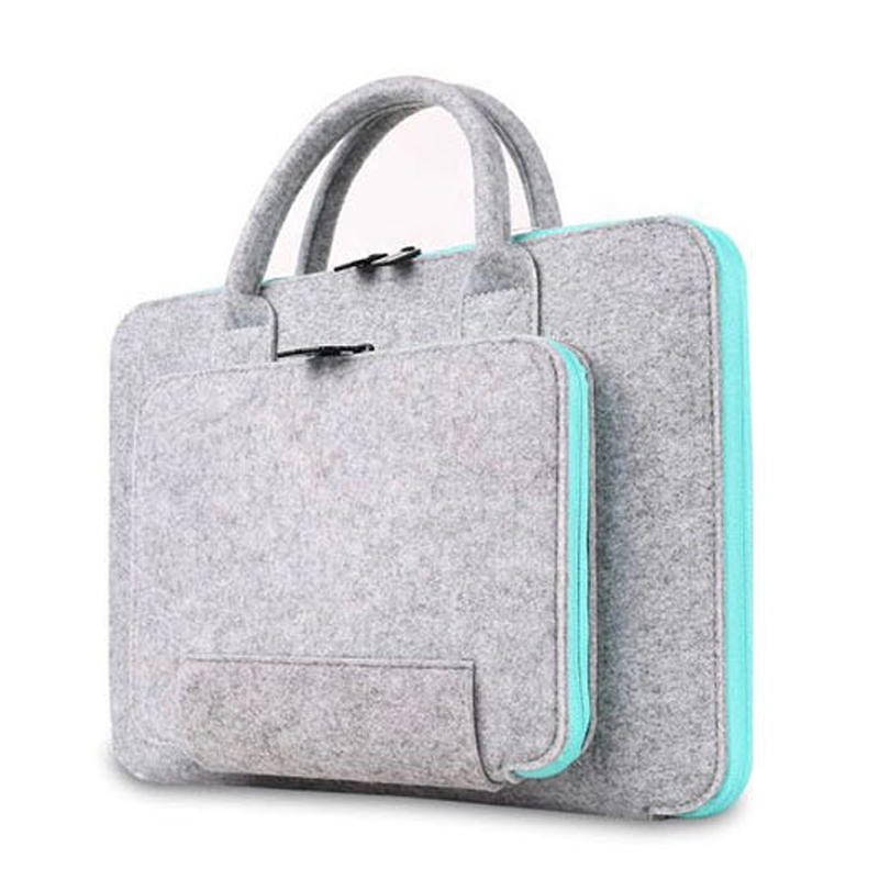 Men Women Handbag Laptop Briefcase 11 14 bag For Mackbook Air Pro Retina 13 15 cover For Xiaomi Lenovo ASUA <font><b>17.3</b></font> <font><b>Notebook</b></font> <font><b>Case</b></font> image